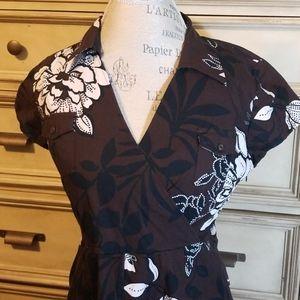 Cutest Talbots Suplice Modern Safari Dress, sz 10P